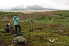 August 2011. Backpacking and hiking in the Valley of 10,000 Smokes. Katmai National Park.