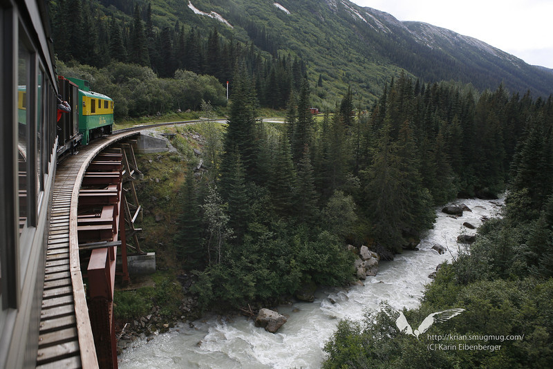 August 2011. Train ride from Lake Bennett (Chilkoot Trail) to Skagway.