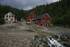 August 2011. Wrangell St. Elias National Park. Old mining town of Kennecott/McCarthy.