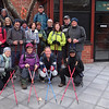 just before the hike!<br /> <br /> Back row - Margaret, Jane (Giggles 1), Bill, Nikki, Anton, Brian, Rose, Mandi, Lloyd, Gail, Sharon, Andrew, Steve.<br /> <br /> Front Row - Sarah (Giggles 2), Elizabeth, Nicole, Sunita
