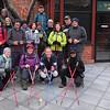 just before the hike!<br /> <br /> Back row - Margaret, Jane (Giggles 1), Bill, Nikki, Anton, Brian, Rose, Mandi, Lloyd, Gail, Sharon, Andrew, Steve.<br /> <br /> Front Row - Sarah (Giggles 2), Elizabeth, Nicole, Sunita
