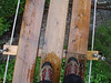 Suspension Bridge during Zipline Adventure<br /> Tongass National Forest<br /> Alaska<br /> © 2007