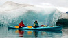 Kayaking the Columbia Glacier Icebergs<br /> Prince William Sound, Valdez<br /> Alaska<br /> © 2008