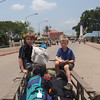 Crossing the Cambodia Thailand border