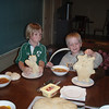 Emmett and Aled and their bread people