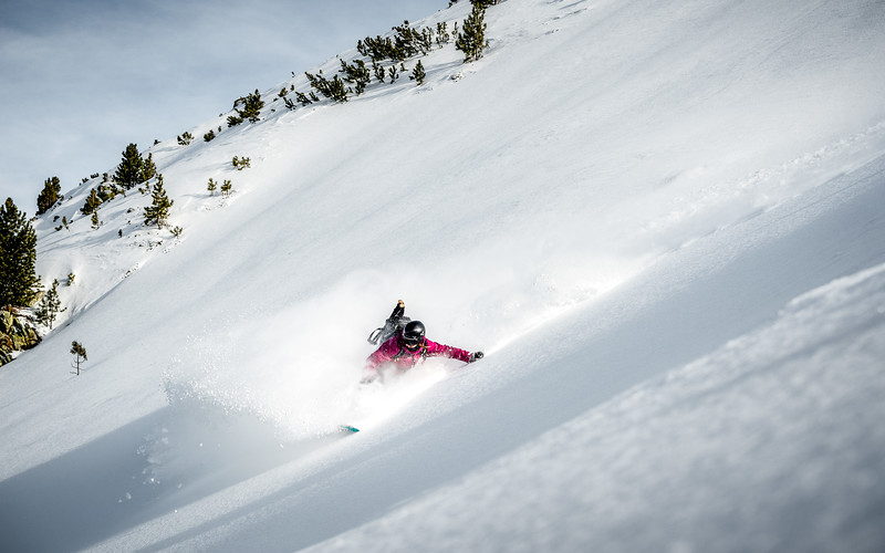 Riding deep snow, Austria 2017, Fiona Stappmanns