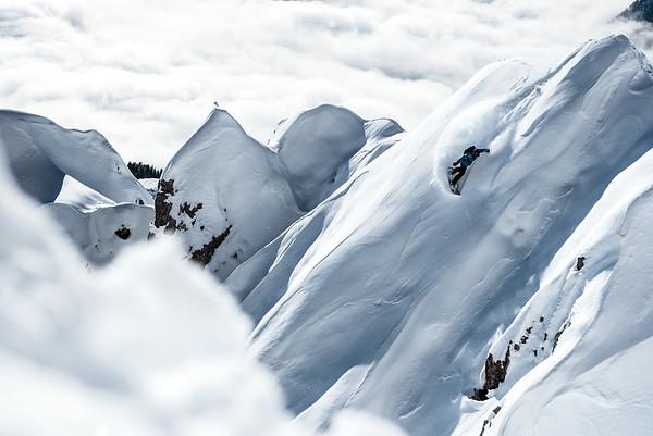 Steep faces, Nordkette, Austria 2018, Nico Metz