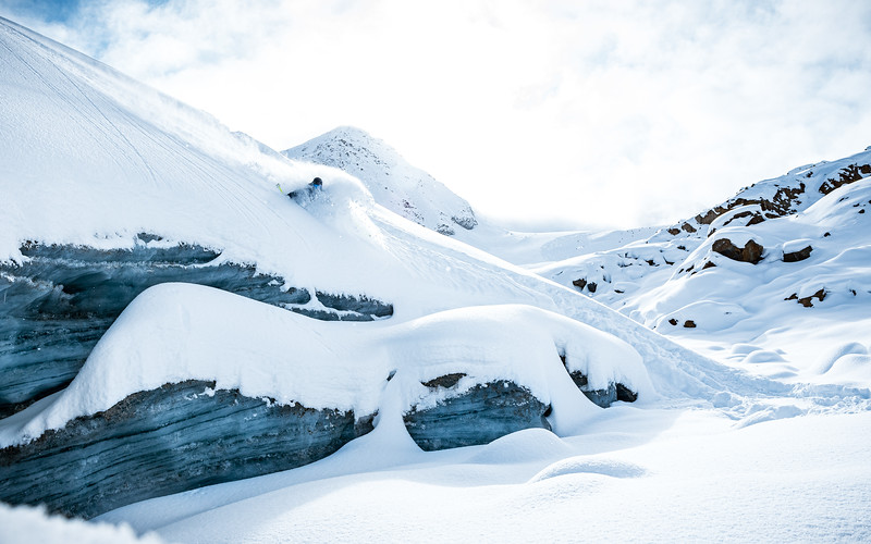 Glacier Drops, Delayon Eyewear Shooting, Julian Überbacher, Pitztaler Gletscher 2019