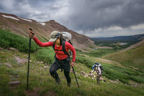 Off-Trail in the High Uintas