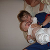 Birthday cuddles with Flo