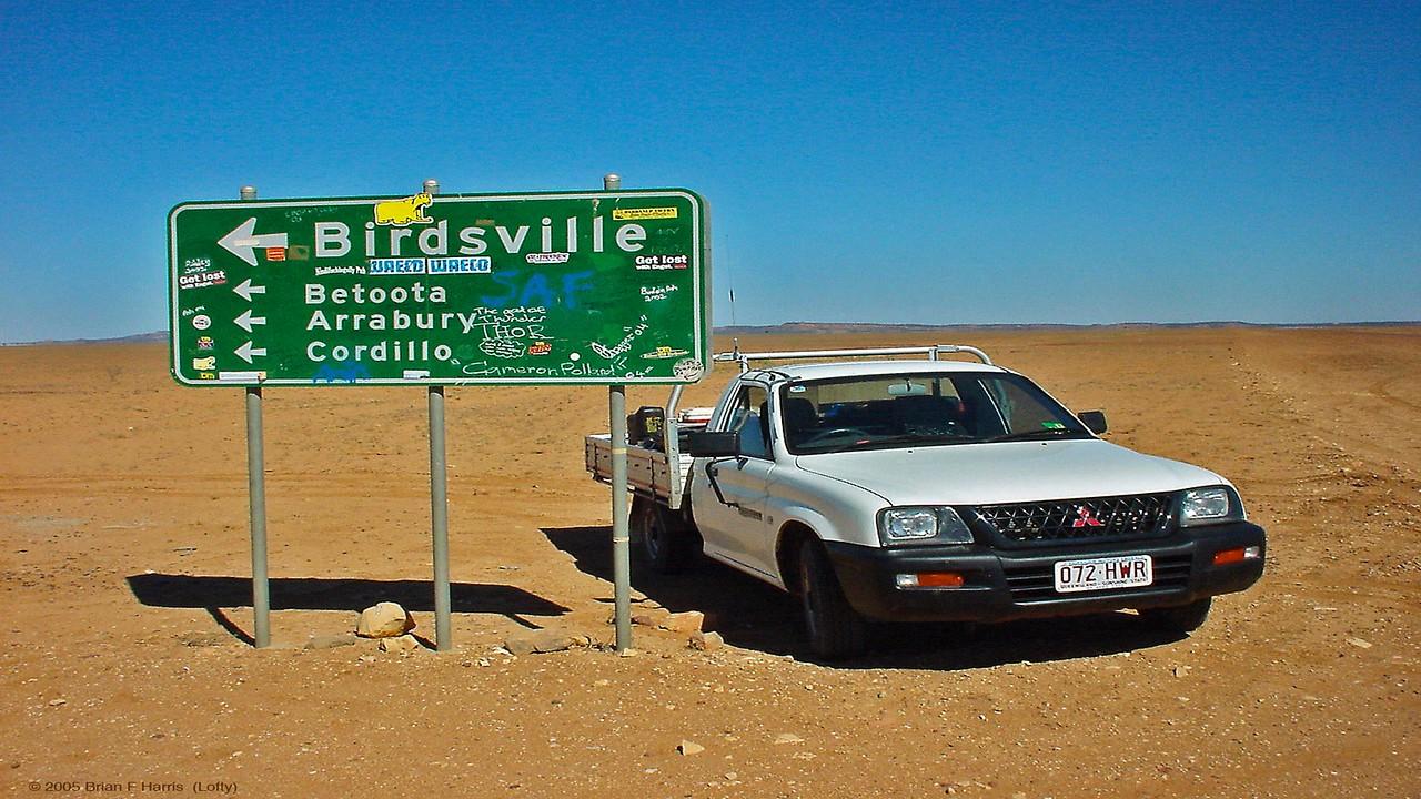 The magic word 'Birdsville'
