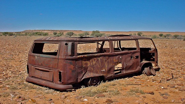 Wonder how the Kombi guys finished their outback adventure. Folk