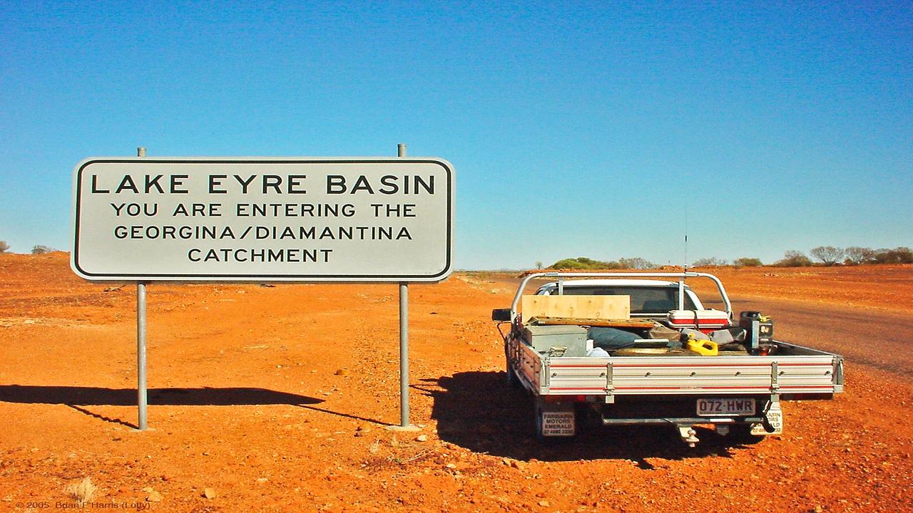 Lake Eyre basin.