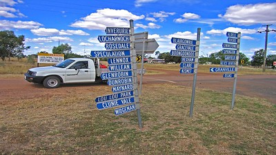 Some of the local cattle & sheep stations around here. Many are