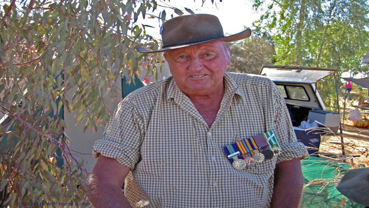 Lofty Bunworth ex our unit.. R I P old mate !