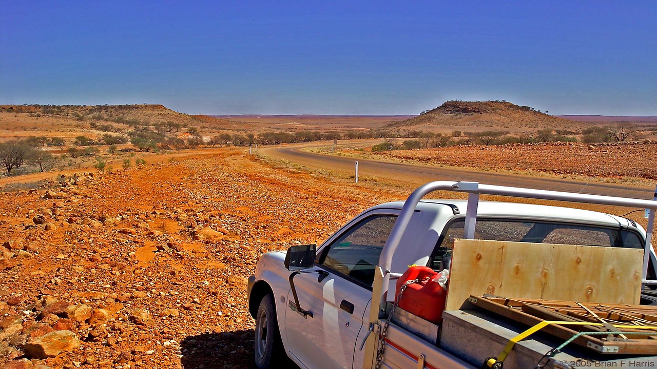 View on the way to Birdsville.