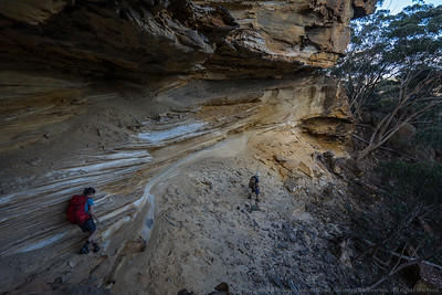 Large caves make our return easier and more interesting.