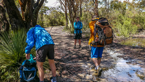 The weather clears just like the forecast said, so we head off into Dione Dell.
