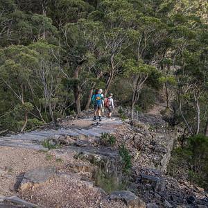 Heading down to Kalang Falls.
