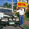 Brian (Lofty) with the mighty 1980 Diahatsu 2.4 ltr diesel at our first night stop on the adventure. The real adventure with GTA leaves as a convoy from Cairns past Smithfield and up the Karanda Range.