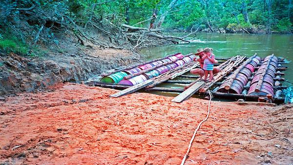 Christen the raft