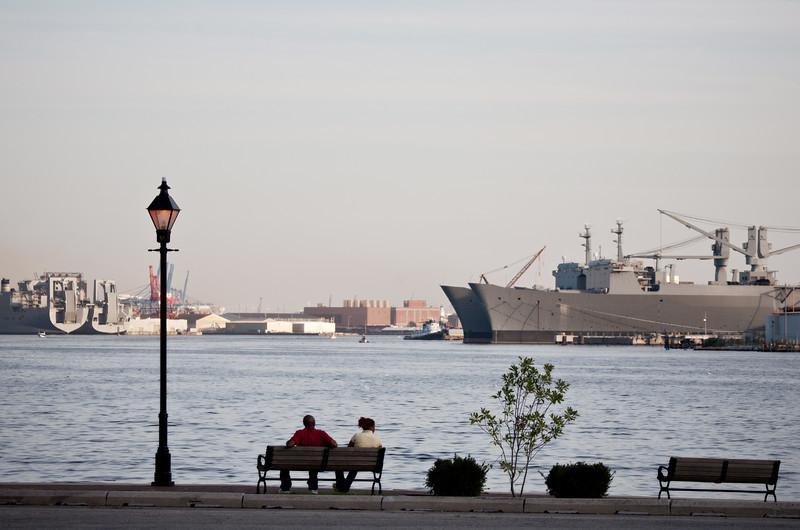 October 2011. Baltimore, Fells Point.