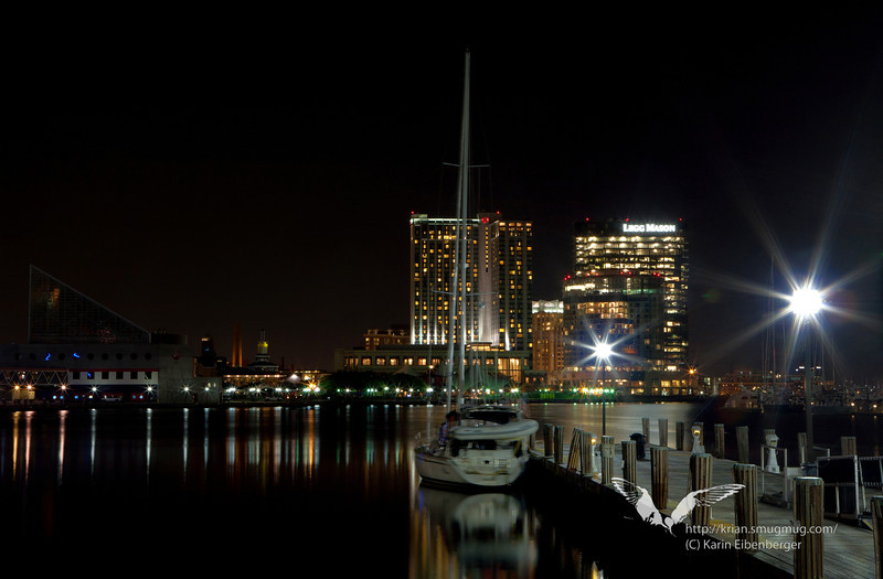 October 2011. Baltimore Inner Harbor.