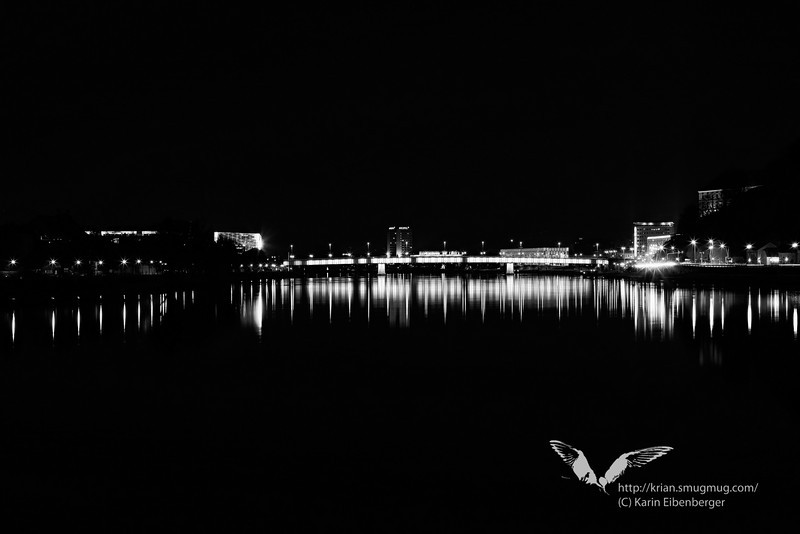 March 2011. Linz in the distance.