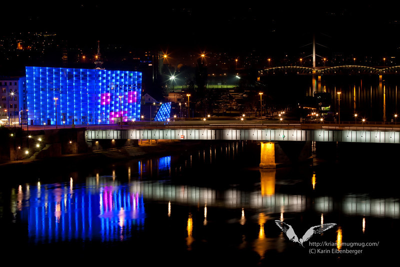 March 2011. The Ars Electronica Centre.
