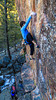 Charles Barron sport leading _______ (5.13b/c) and the following project (5.14a?) on the Cube in the Gallatin National Forest.