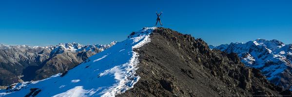 Woohoo!  The summit!
