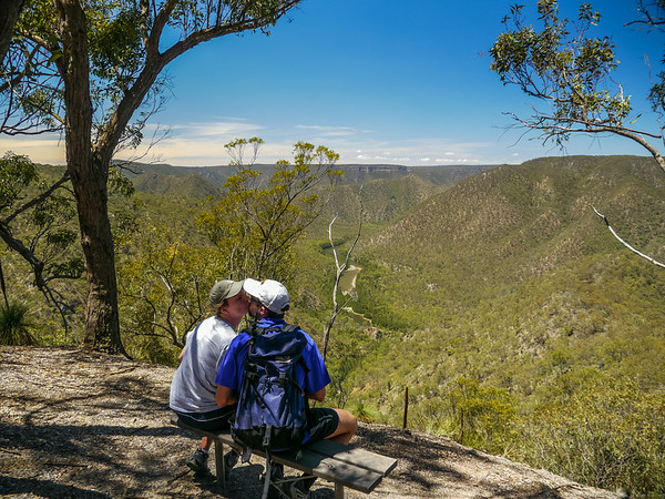 The Mt Ayre lookout.