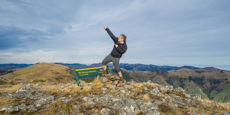 Mt Herbert - bagged!