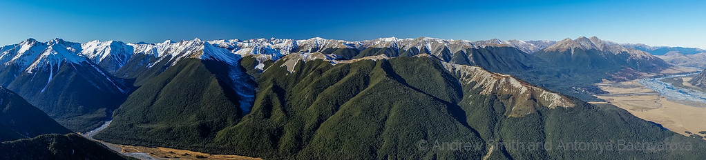 The Savannah Range on the east side of the Hawdon River Valley.