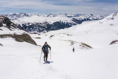 Climbing Peak 13510, Red Mountain Pass, CO