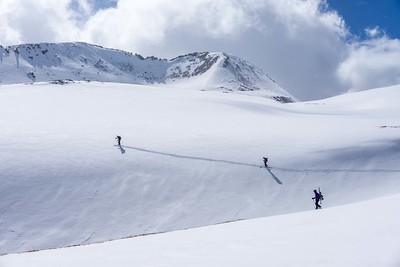 Mineral Basin, Red Mountain Pass, CO, USA