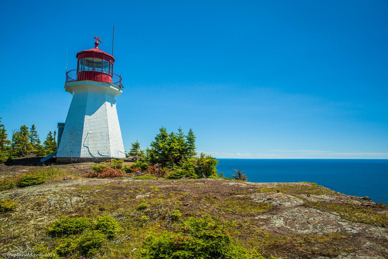 Highest Lighthouse on Lake Superior