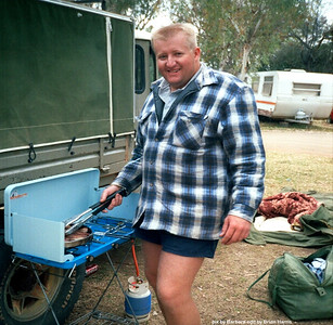 Chad cooks up at Alice Springs