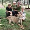 Meeting a cheetah