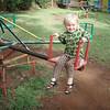 Playing in Kisumu