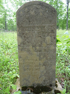 Born 1875, died 1903.