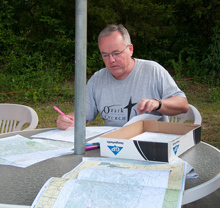 Marking the routes on the map