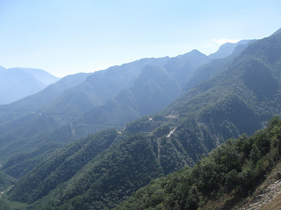 The road from Montemorelos to Rayones is a superb, twisty paved road.