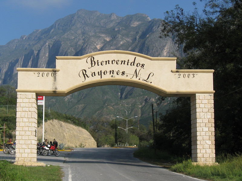 Entrance into Rayones.