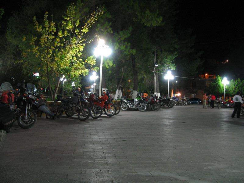 About 50 riders attended MexTrek 2008.