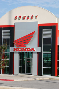 We made a quick stop at Cowboy Honda in Kyle, TX for a few needed items.