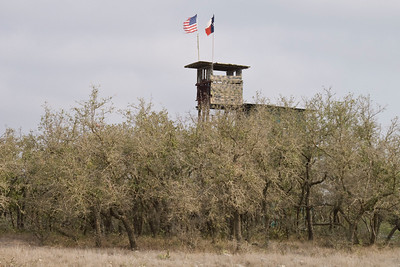 High rise deer stand condominium, Texas hill country style.