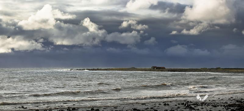 Near Stavanger in Norway. A storm arising.