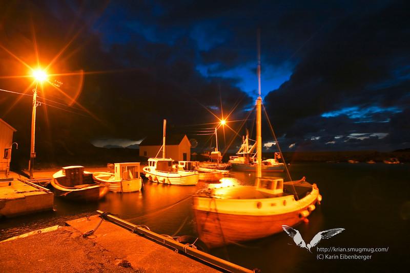 Fishing harbour, south of Stavanger.