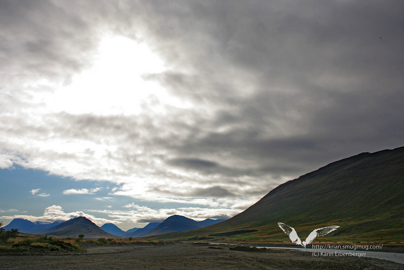 The north, one of the most beautiful valleys in this area.